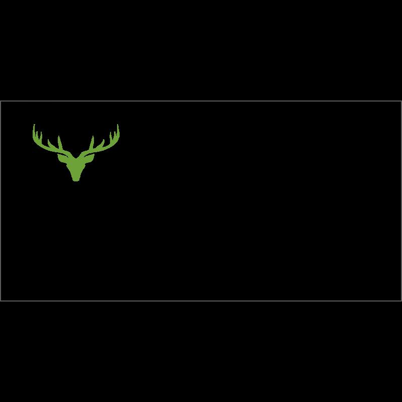 Couvert Grüne Weihnachtskarte